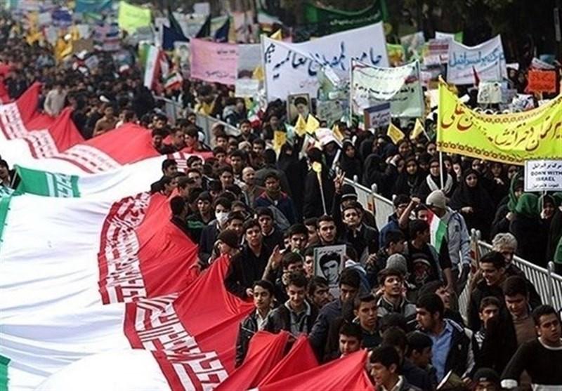 مسیرهای راهپیمایی ۱۳ آبان در استان قزوین اعلام شد