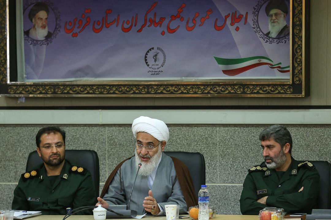 انقلاب اسلامی شجره طیبه فعالیتهای جهادی است