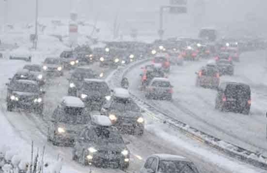 بارش برف و باران و وقوع کولاک در قزوین/ هشدارها را جدی بگیرید