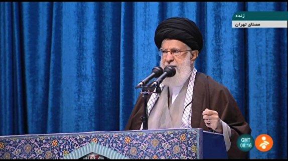 عکس/ حضور چهرهها در مراسم نمازجمعه تهران