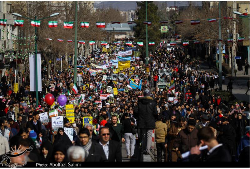 """مسیرهای راهپیمایی یوم الله """"۲۲ بهمن"""" در استان قزوین اعلام شد"""