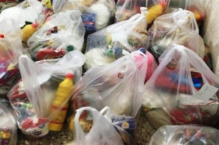 توزیع بستههای غذایی رایگان بین نیازمندان در قزوین
