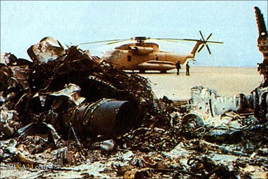 زمینگیر شدن عقاب پوشالی در صحرای طبس/ ضربه شستی که درس عبرت امریکاییها نشد