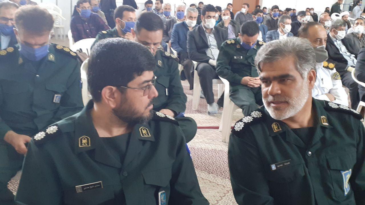 فرمانده جدید سپاه ناحیه امام حسن(ع) قزوین معرفی شد