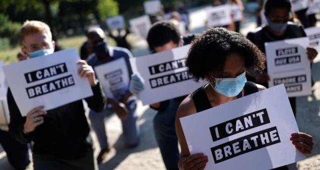 اینفوگرافیک/ آمریکا؛ سرمایهداری علیه سیاه و سفید