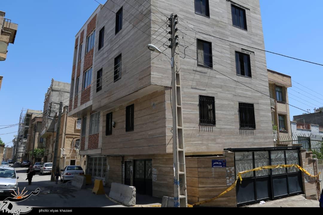 قدمت ۶۰ ساله لولههای آب، مردم قزوین را بیخانمان کرد/ ریزش ساختمان، تهدید بزرگی برای محله محمدیه!