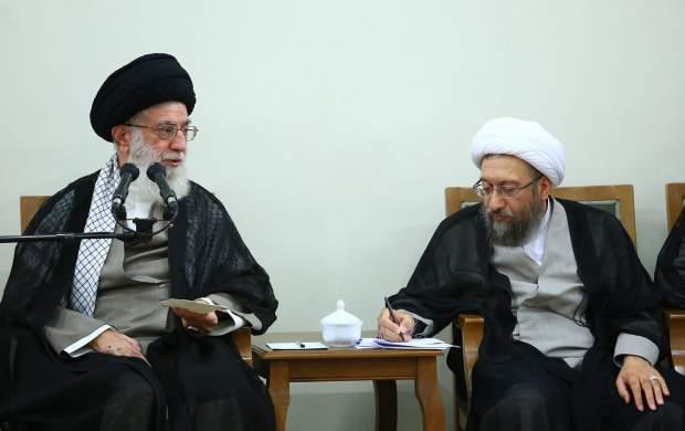 درباره دفاع رهبرانقلاب از لاریجانی