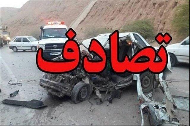 تصادف زنجیرهای در اتوبان قزوین-کرج با ۳۰ کشته و مصدوم