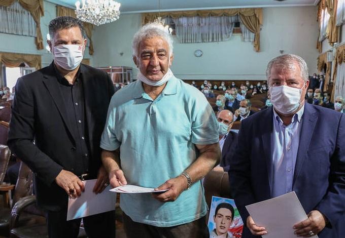 عکس/ علی دایی و پروین در جشن عید غدیر