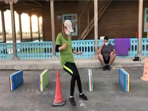 تمرینات مختلط ورزشی در بوشهر و دهن کجی به عفت عمومی+ عکس و فیلم