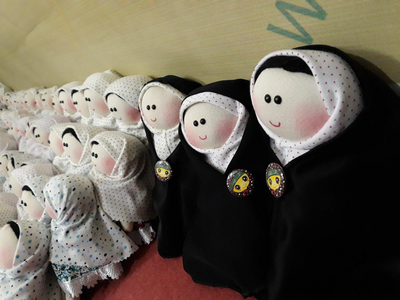 """طرح """"پیشکشی باران"""" اجرا میشود/ تولید عروسکهای اربعین برای دومین سال متوالی در قزوین"""