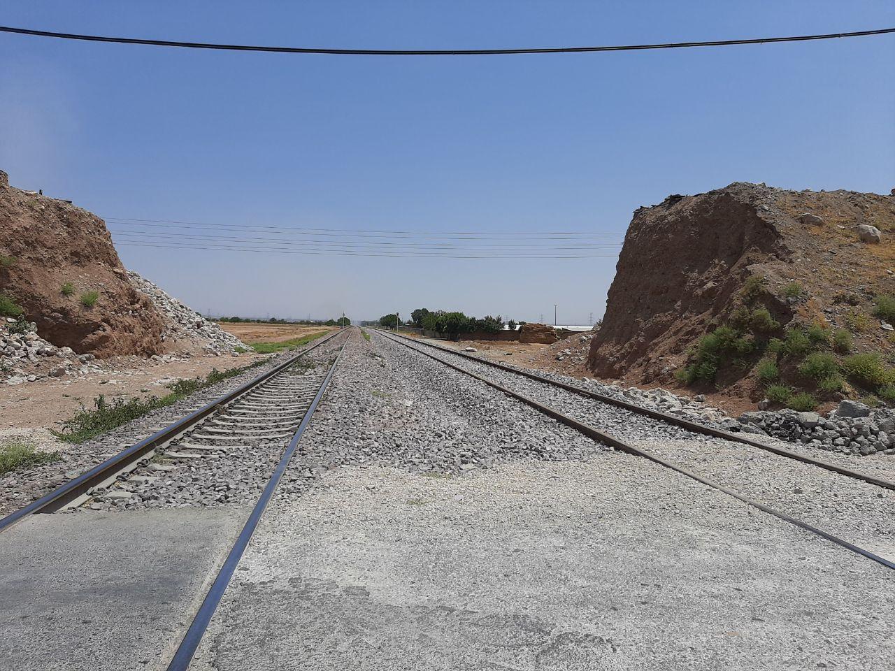 رفع مسدودی از خط راهآهن پس از آغاز عملیات احداث پل روگذر