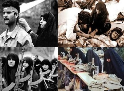 بانوان در پوشش امدادگر برای شناسایی منافقان میرفتند/ زنان برای پشتیبانی جبهه از همه دارایی خود میگذشتند