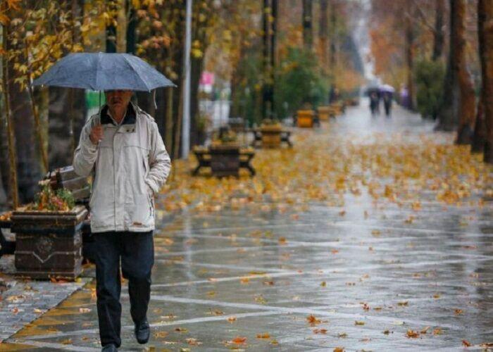 تمامی نقاط قزوین شاهد بارندگی میشود/ استقرار توده هوای سرد در منطقه