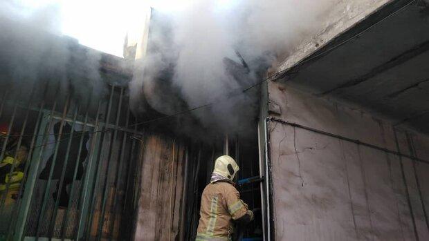 آتشسوزی در بازار قزوین مهار شد