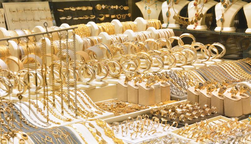 ثبات قیمت طلا در بازار قزوین