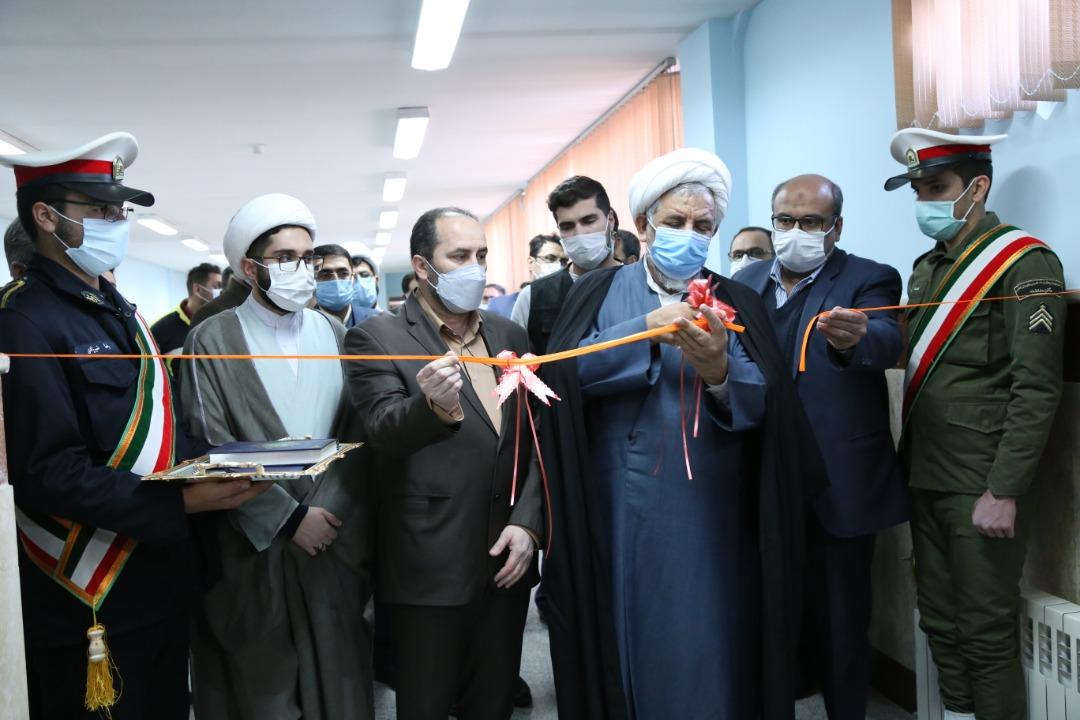 افتتاح اتاق ویژه دادرسی الکترونیک در زندان مرکزی