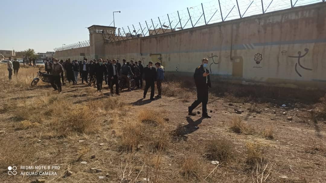 توسعه فضای زندان بزرگ قزوین و گلایههایی که باید شنیده شود/دست و پنجه نرم کردن مردم با پساب «چوبیندر»