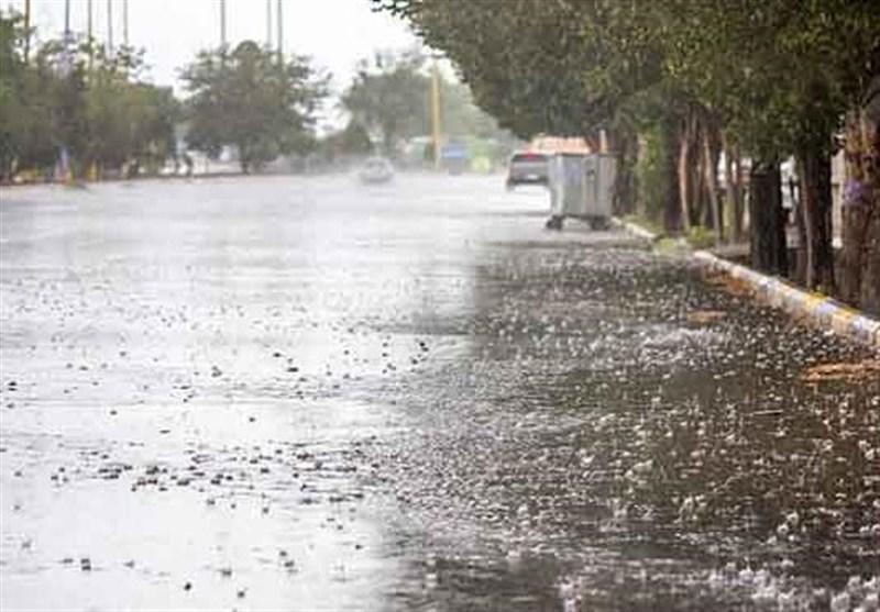 بارشها در قزوین ادامه دارد