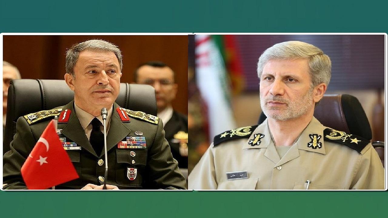 پیام تسلیت وزیر دفاع ایران در پی درگذشت جمعی از فرماندهان ارتش ترکیه در سقوط بالگرد