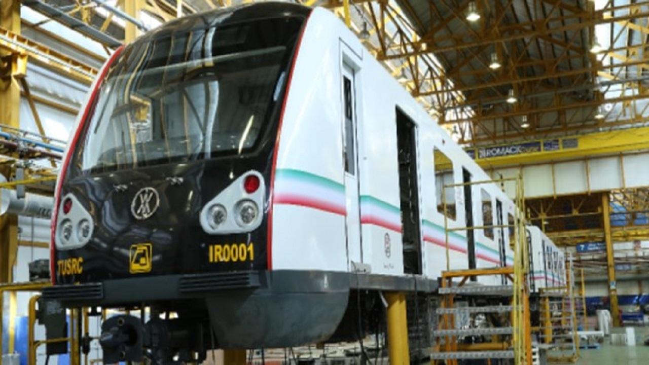 نخستین نمونه قطار ملی فردا رونمایی میشود