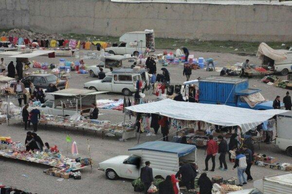 بازارهای هفتگی در قزوین تعطیل شد